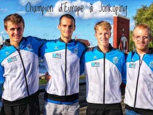 3 rameurs maconnais champion d'europe
