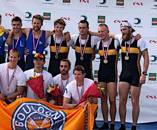 Le 4- PL Médaille de Bronze au championnat de France Bourge
